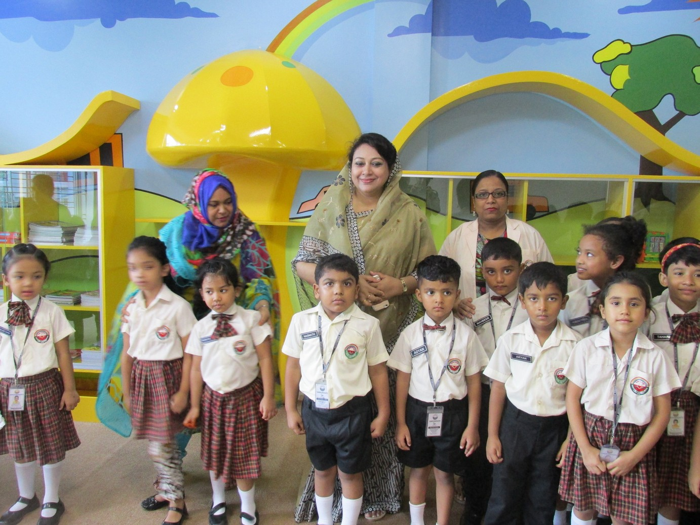 Inauguration of Story Room  Library (2)