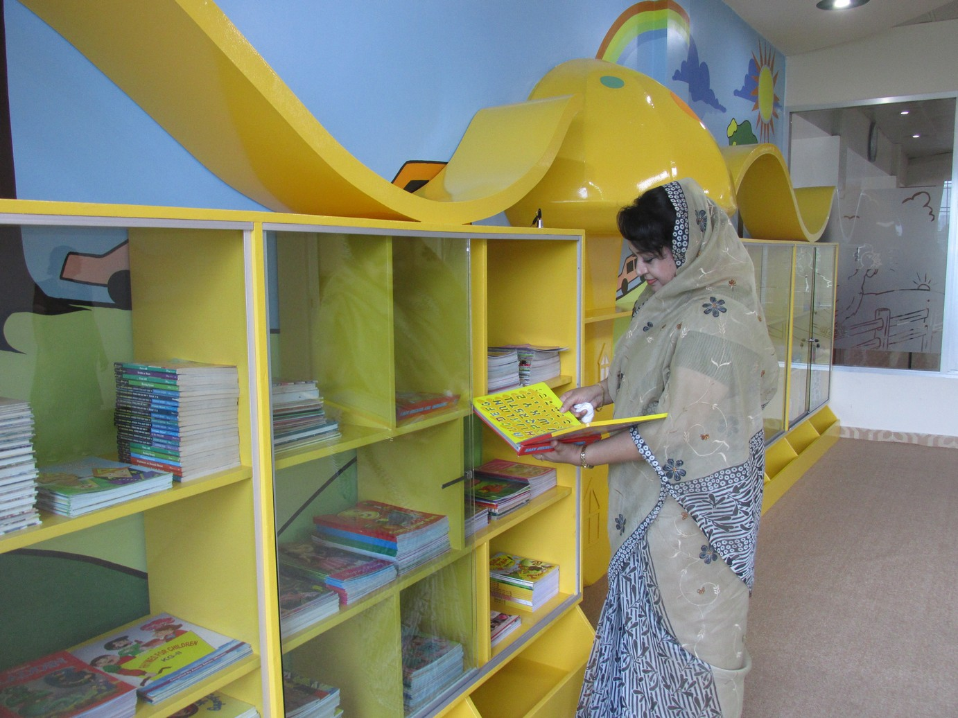 Inauguration of Story Room  Library (5)