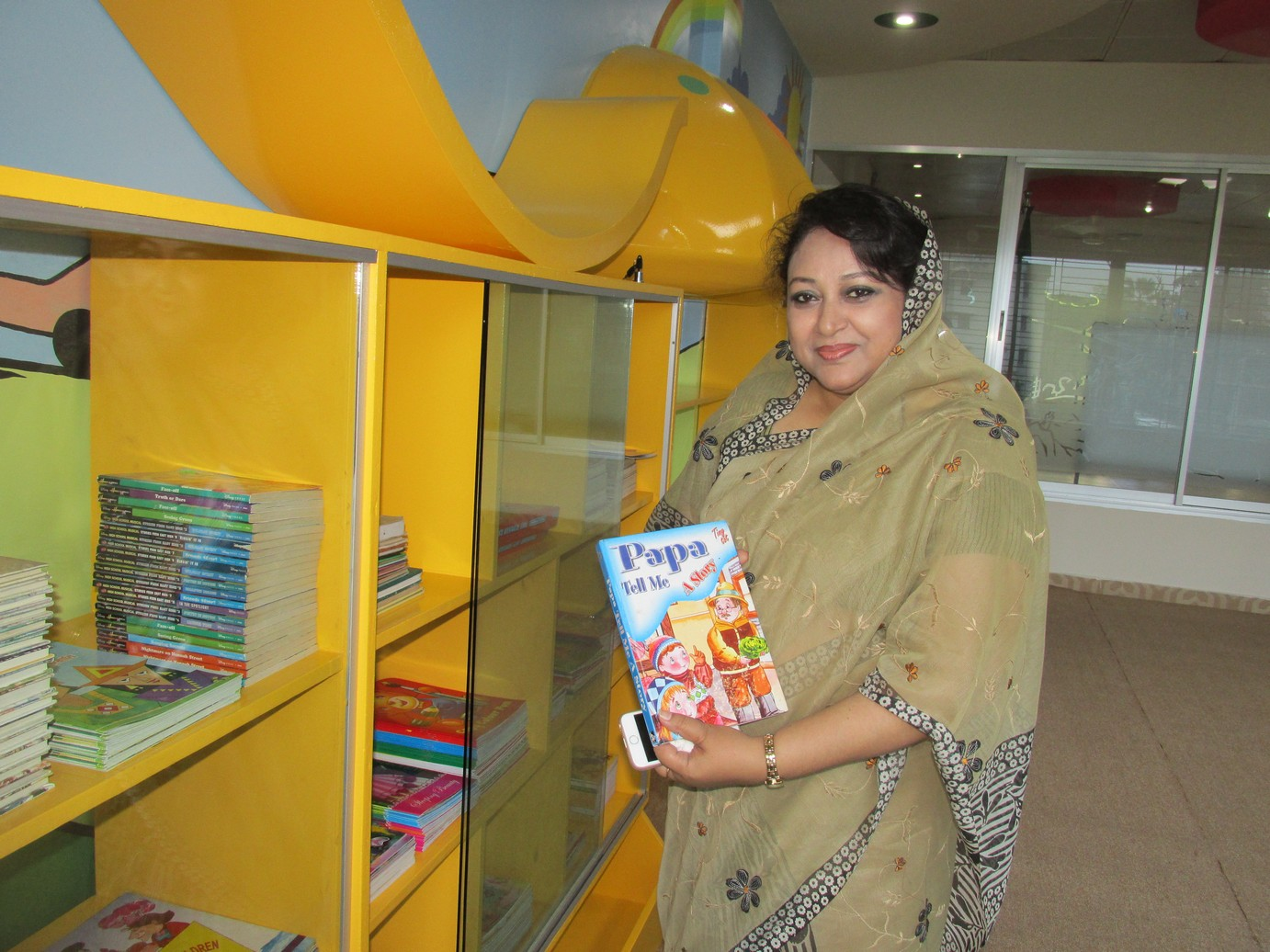 Inauguration of Story Room  Library (7)